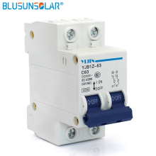 5 pieces / lot 2P 63A DC 250V MCB Solar Energy Photovoltaic PV DC Switch Controller Circuit Breaker DL0224