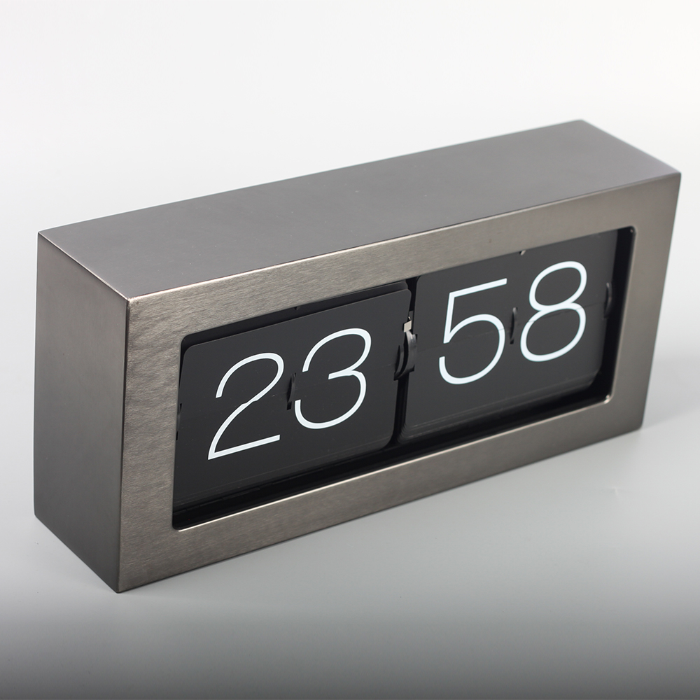 Big Brick Metal Flip Clocks
