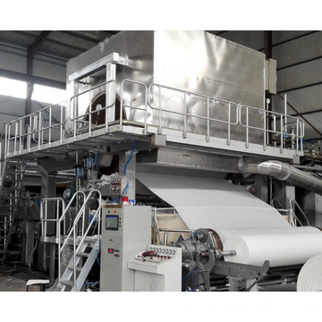 Rice Straw Pulp Toilet Tissue Paper Making Machine