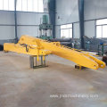 E336 long reach boom assembly for river mud cleaning