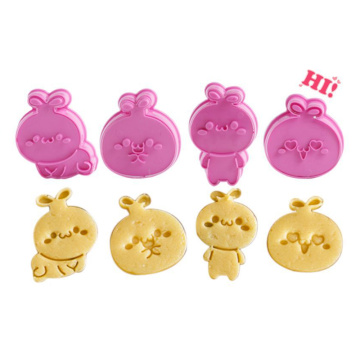3D Cartoon Cake Biscuit Mold