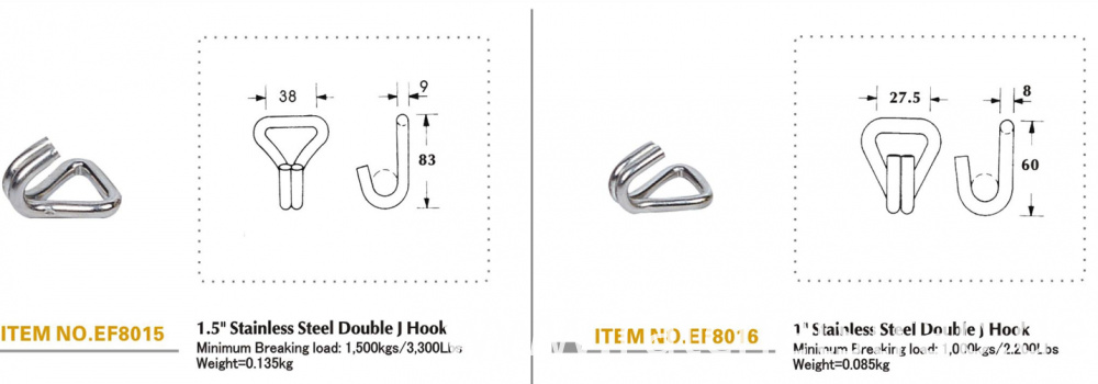 specification of J hook