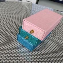 Custom glitter false eyelash packaging boxes