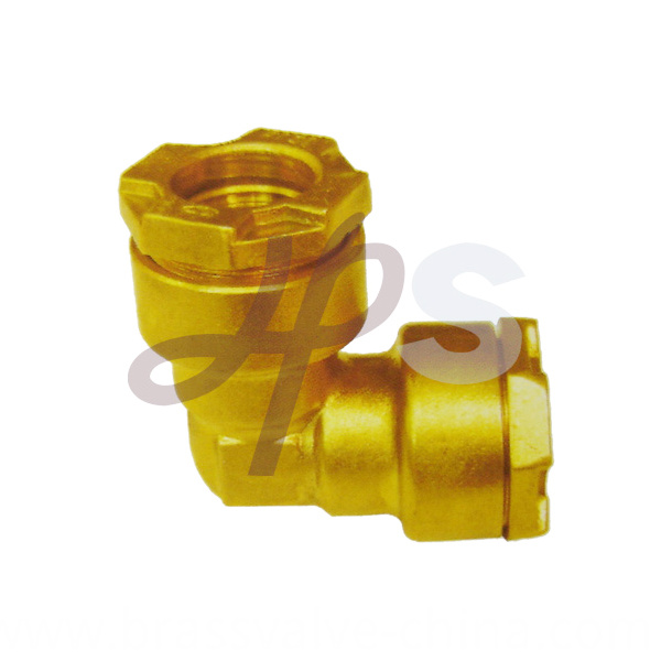 Brass Pe Ppr Elbow Fitting H835