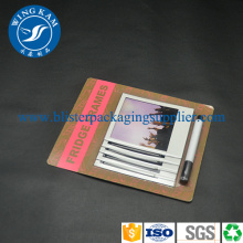 Environmental Saleable Slide Card Blister Packaging