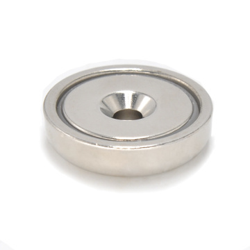 RPM-A48 Pot Magnet Round Base