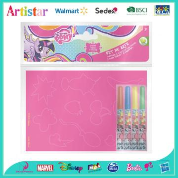MY LITTLE PONY attractive colouring set