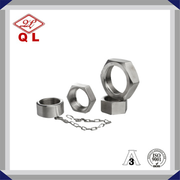 Sanitary Stainless Steel Blank Nut with Chain