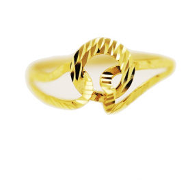Interlocking Ring 18K Yellow Gold