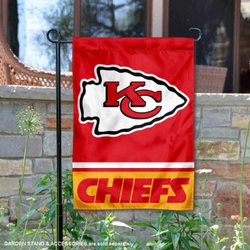 Custom NFL Kansas City Chiefs garden flags