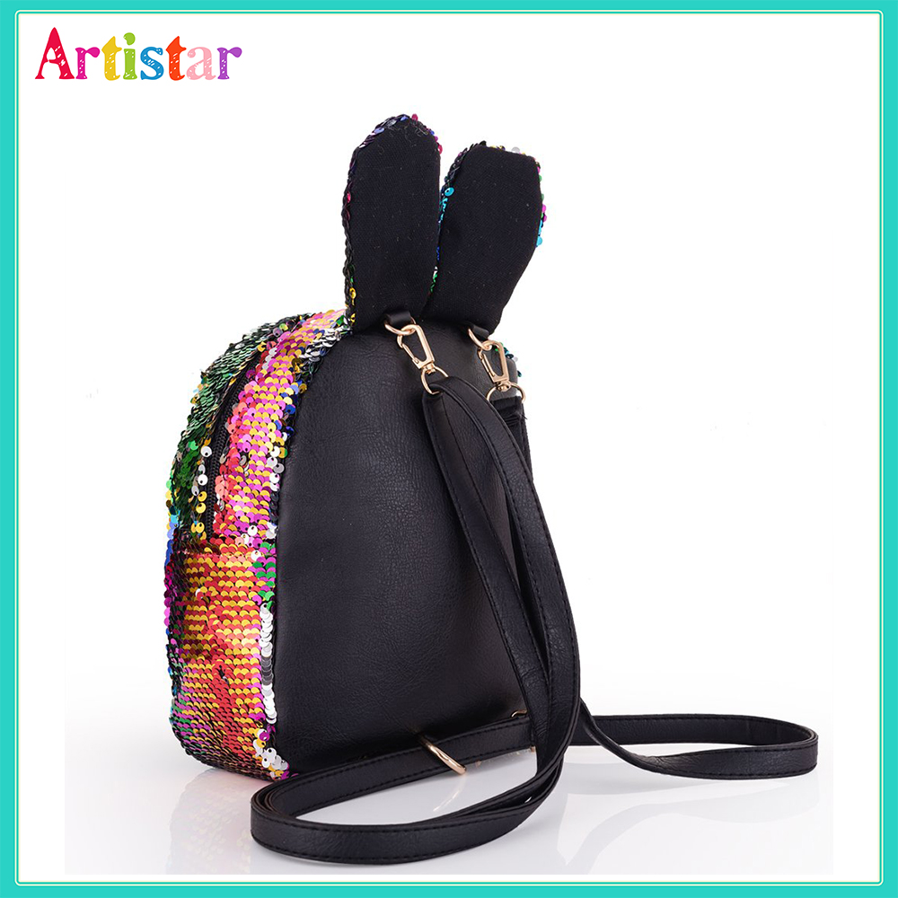 Rabbit Sequin Backpack 12 2