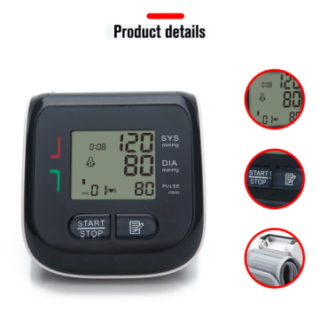 ISO approved wrist digital  blood pressure monitor