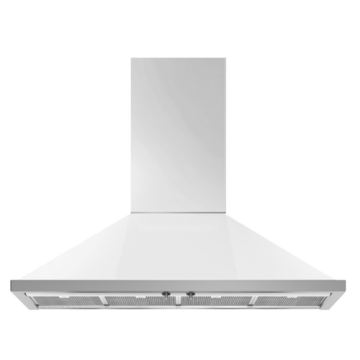 Smeg White Range Hoods Wall-mounted