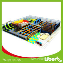 CE Approved high quality launch trampoline park