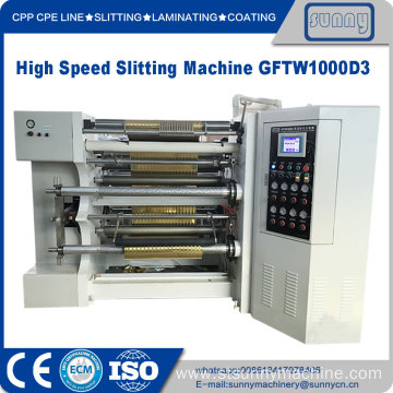 Coreless Rewinding Slitting Machine