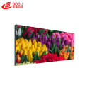 indoor standing touchscreen ultra narrow bezel video wall