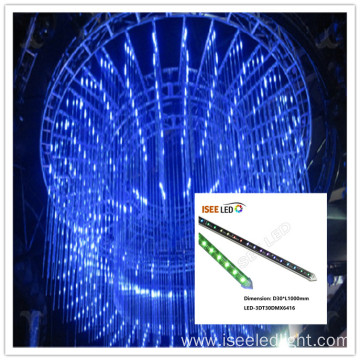 Wholesale RGB 3D meteor tube club light