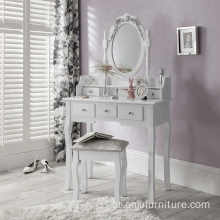 modern Large-capacity cheap white dressing table designs