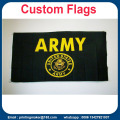 Custom Business Flags Full Color Club Emblem Advertising