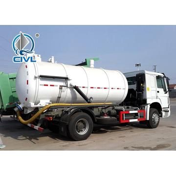 4x2 8M3 Sewage Suction Truck