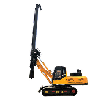 Tracked square pole pile drivers are on sale