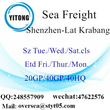 Shenzhen Port Sea Freight Shipping To Lat Krabang