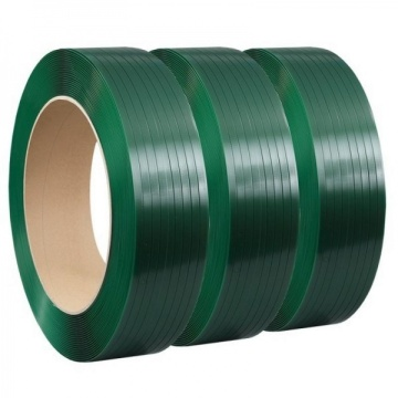 gahi nga plastic packaging green pet strapping band