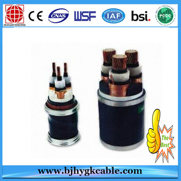 33KV 1*400sqmm Copper XLPE Insulation MDPE Sheath cable