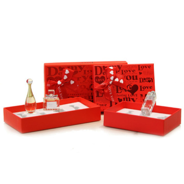 Custom Cosmetic Perfume Set Bottle Packaging Paper Box