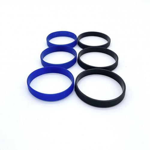 Elastic Different Size Silicone Rubber Sport Wristband