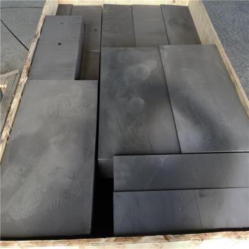 Isostatic graphite for industrial copper