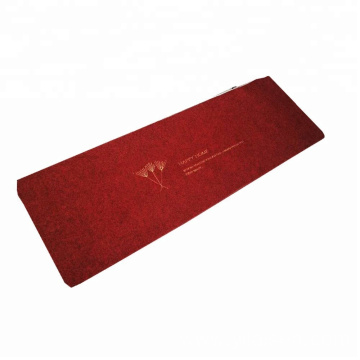 Popular embroidered washable bathroom door mat