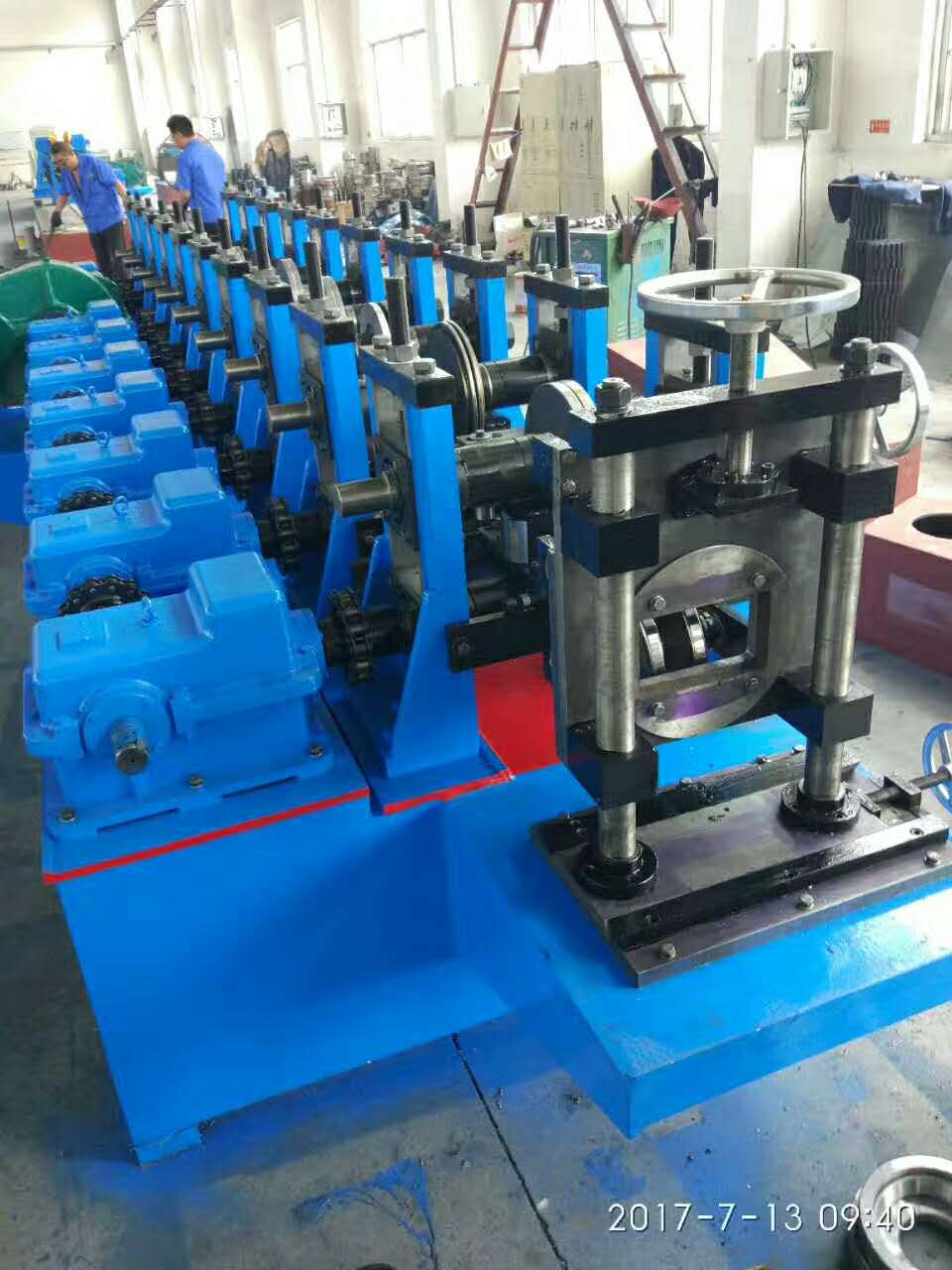 Hydraulic Easy Operation Customized 41x41 channel machine