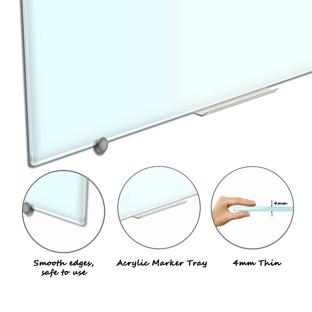 Office Dry Erase magetic glass board
