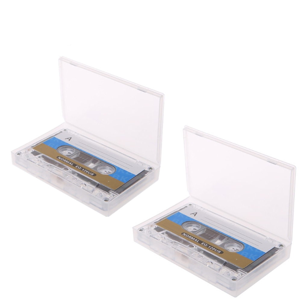 1pc For Speech Music Recording Standard Cassette Blank Tape Player Empty Tape With 60 Mins Magnetic Audio Tape Recording