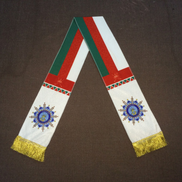 Oman National Day Digital Printing velvet warm scarf