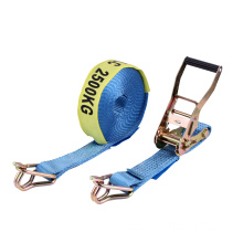 Australian standard! 7500KGS Polyester With Swan Hook 50MM Ratchet Tie Down Strap