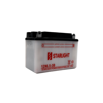 12V6.5ah 12N6.5-3B Conventional Motorcycle Batteries