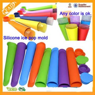 Set of 4 Premium Silicone Popsicle Molds