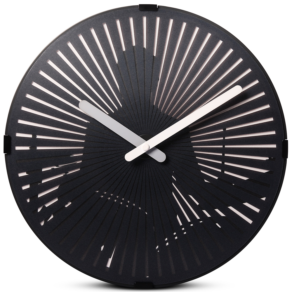 Drum Wall Clock With Light