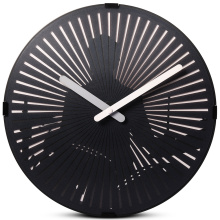 Playing Drum Motion Wall Clock