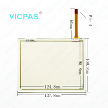 1302-X801/01-NA touch screen 1302-800 C TTI touch panel membrane glass digitizer