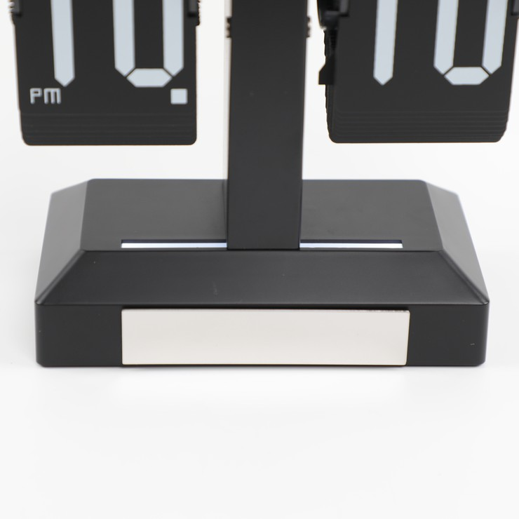 Table Flip Clock With Light