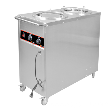 Stainless Steel Plate Warmer Trolley