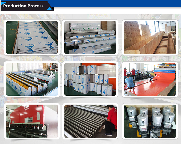 Fast Roller shutter door productive process
