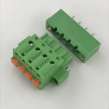 push in botton pluggable terminal block
