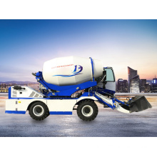 small truck concrete mixer