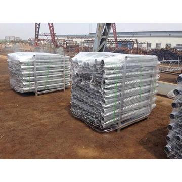 Helix Ground Screw Pile for Solar Energy