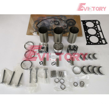 KUBOTA D1503 rebuild overhaul kit gasket bearing piston