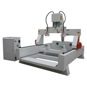 4 Axis Stairs Handrail rotary CNC machine